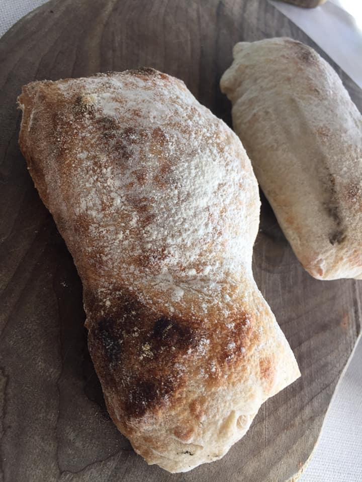 Villa Rosa di Nonna Rosa, pane appena sfornato