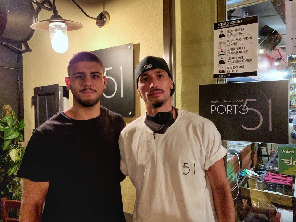 Miriano Mancusi e Giovanni Iacono porto 51