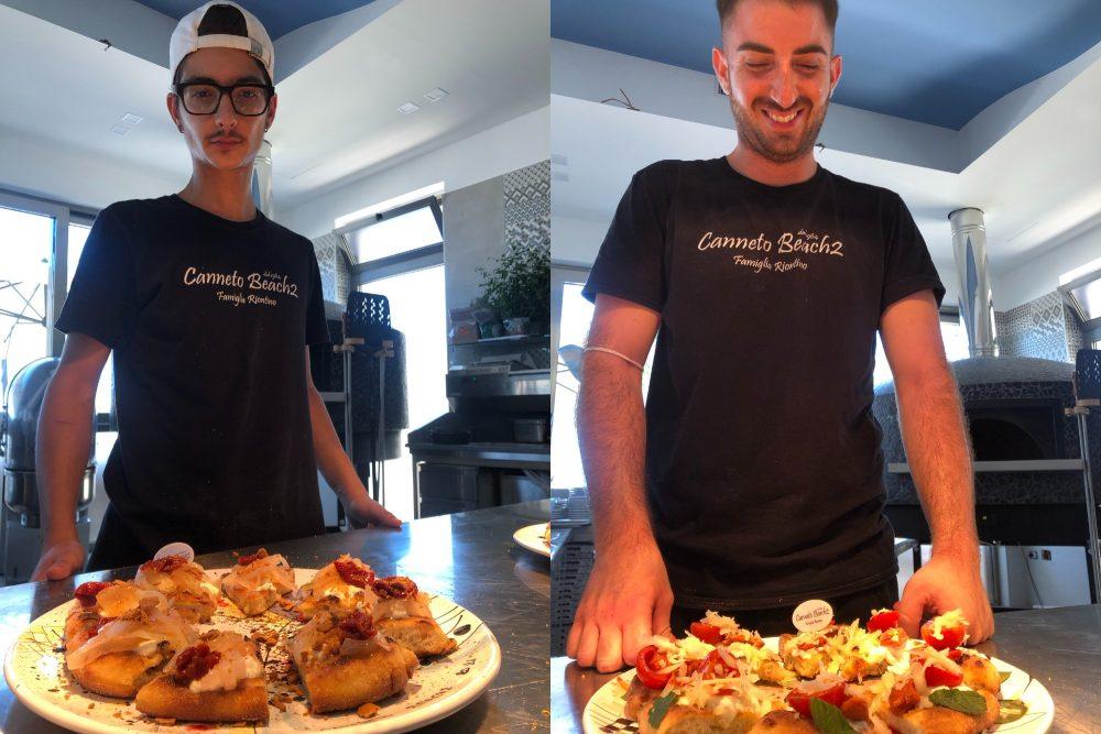 Canneto Beach 2, Le Pizze dello staff