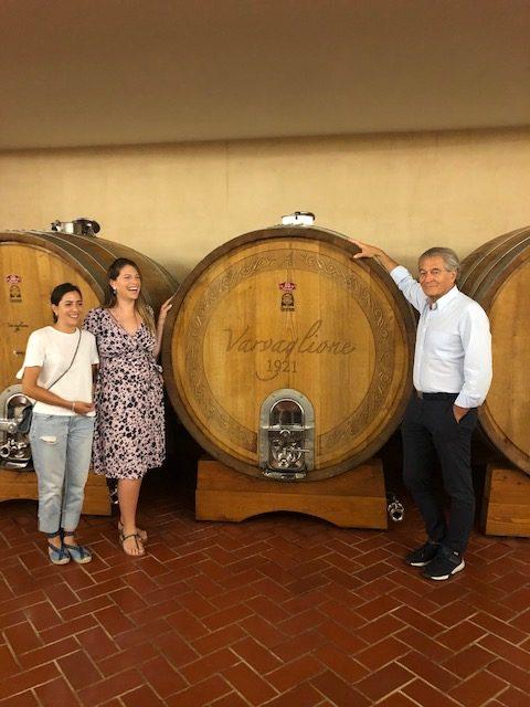 Francesca, Marzia e Cosimo Varvaglione