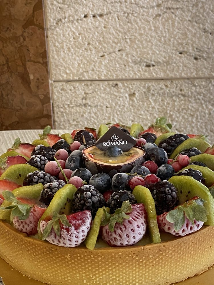 Gran Caffe' Romano - Crostata gelato alla frutta
