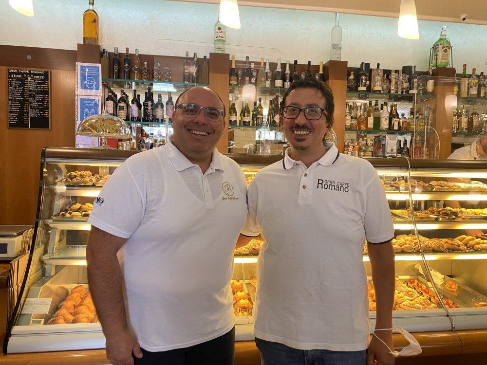 Gran Caffe' Romano - Gianfranco e Raffaele Romano