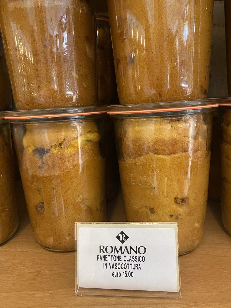 Gran Caffe' Romano - Panettone in vaso cottura