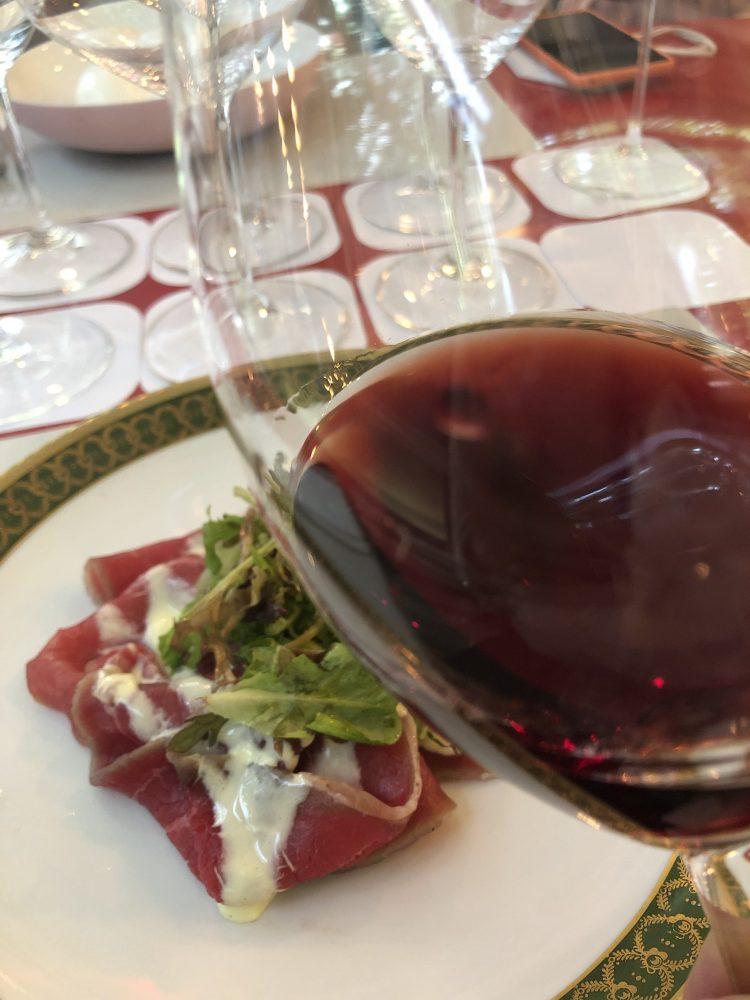 Il Brunello di Montalcino Franco Pacenti abbinato alla carne cruda