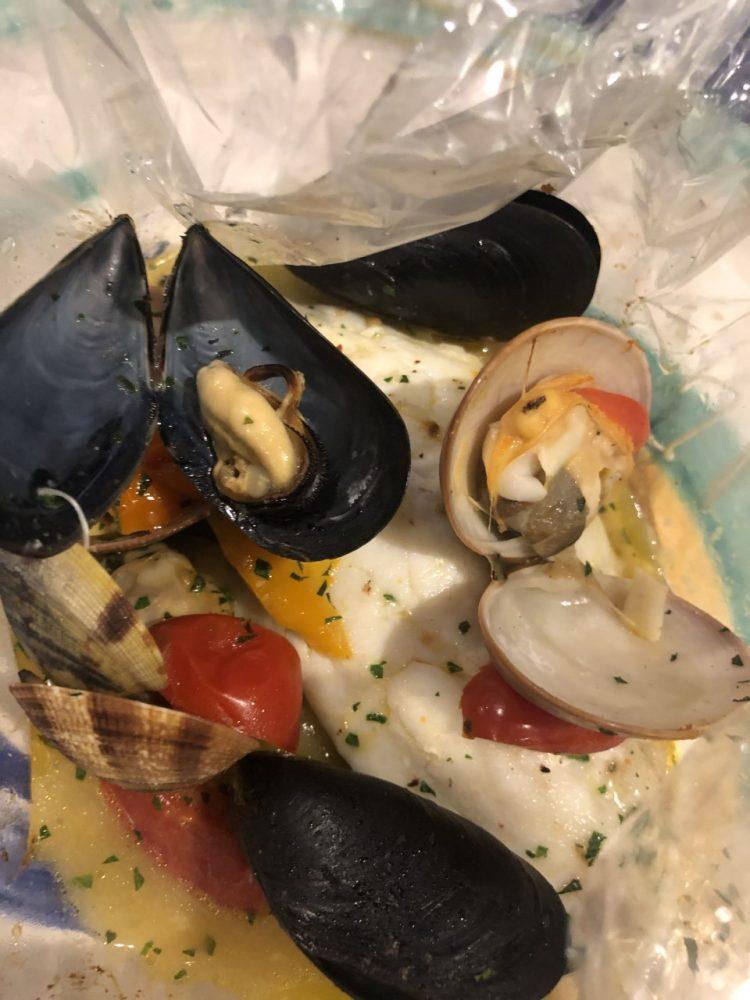 Nautilus - cartoccio aperto