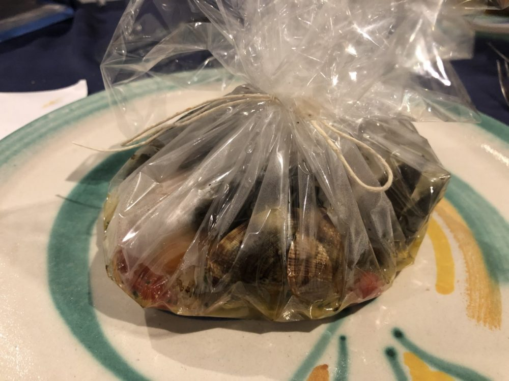 Nautilus - pezzogna al cartoccio