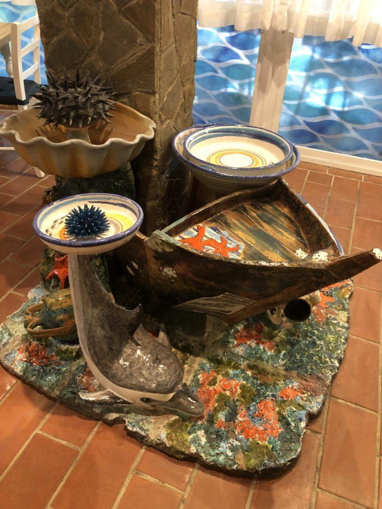 Nautilus - sculture in sala