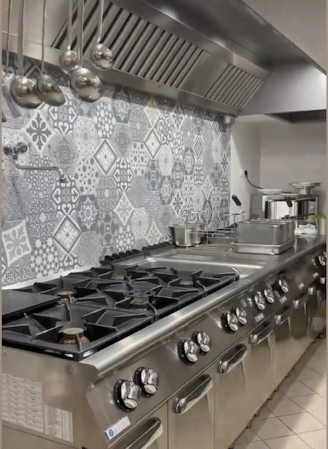 Osteria Palazzo Maresca - cucina