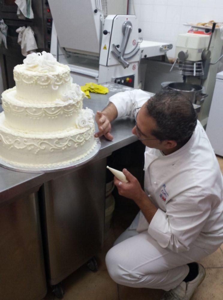 Pasticceria Dolci Tentazioni - Il proprietario e pastry chef Maurizio Pollio
