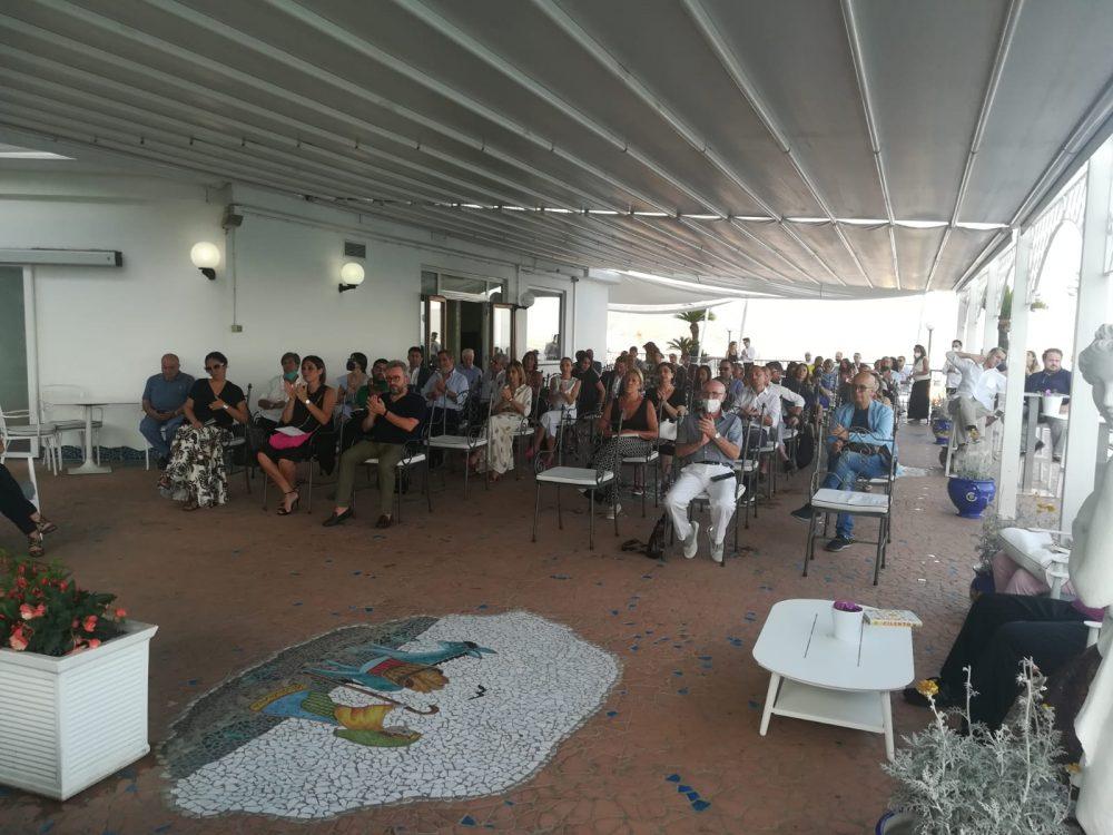 Presentazione del libro il Metodo Cilento LLOYD'S BAIA HOTEL di Vietri sul Mare