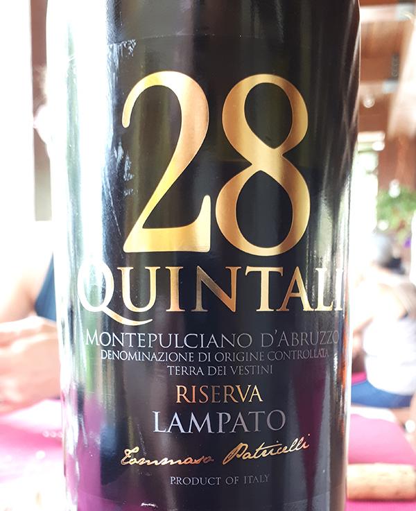 Riserva 28 Quintali 2013 di Lampato
