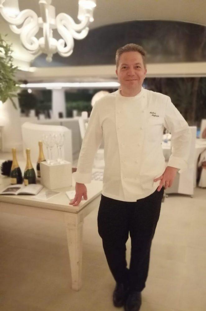 Ristorante L'Olivo Capri Palace Jumeirah - Andrea Migliaccio Executive Chef