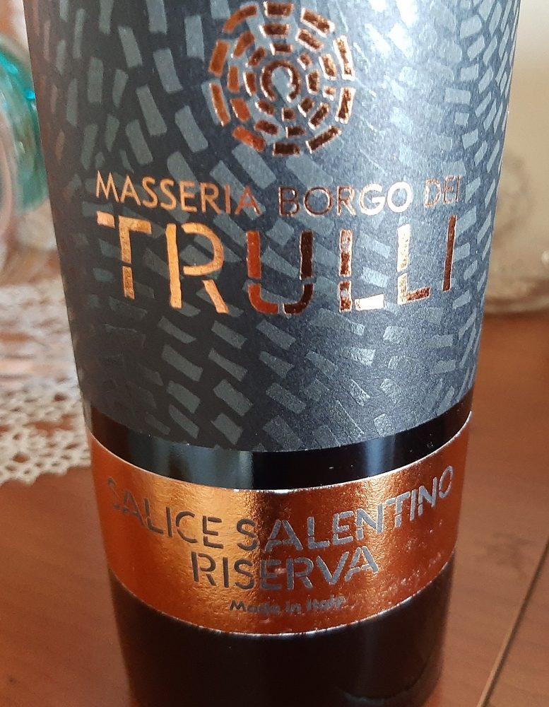 Salice Salentino Riserva Dop 2018 Masseria Borgo dei Trulli