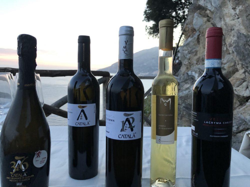 I vini di Montesomma Vesuvio