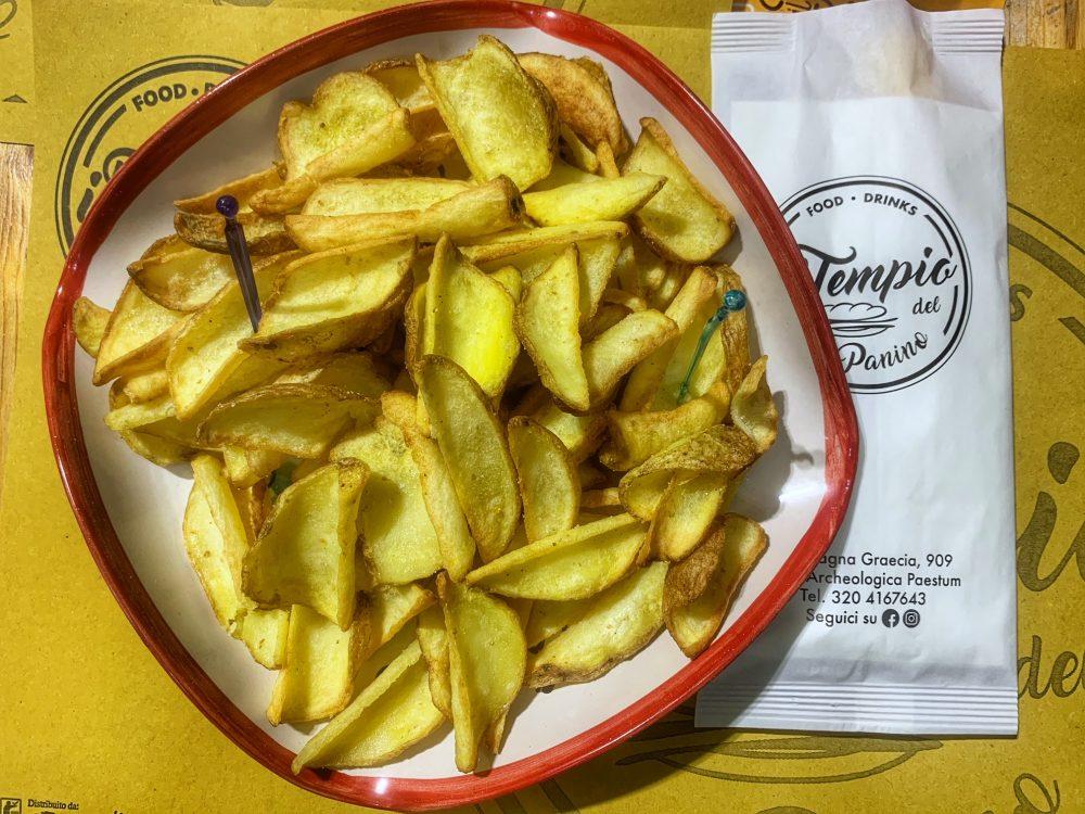 le patatine fritte del tempio del panino