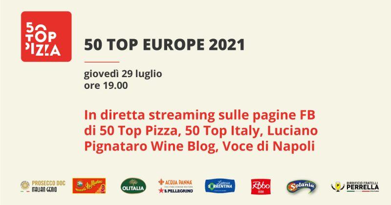 Diretta streaming di 50 Top Europe 2021