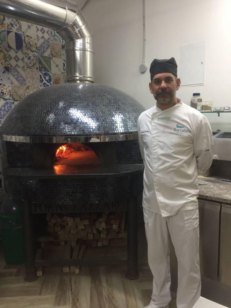 Gusto Marigliano - il pizzaiolo Antonio Caiazzo
