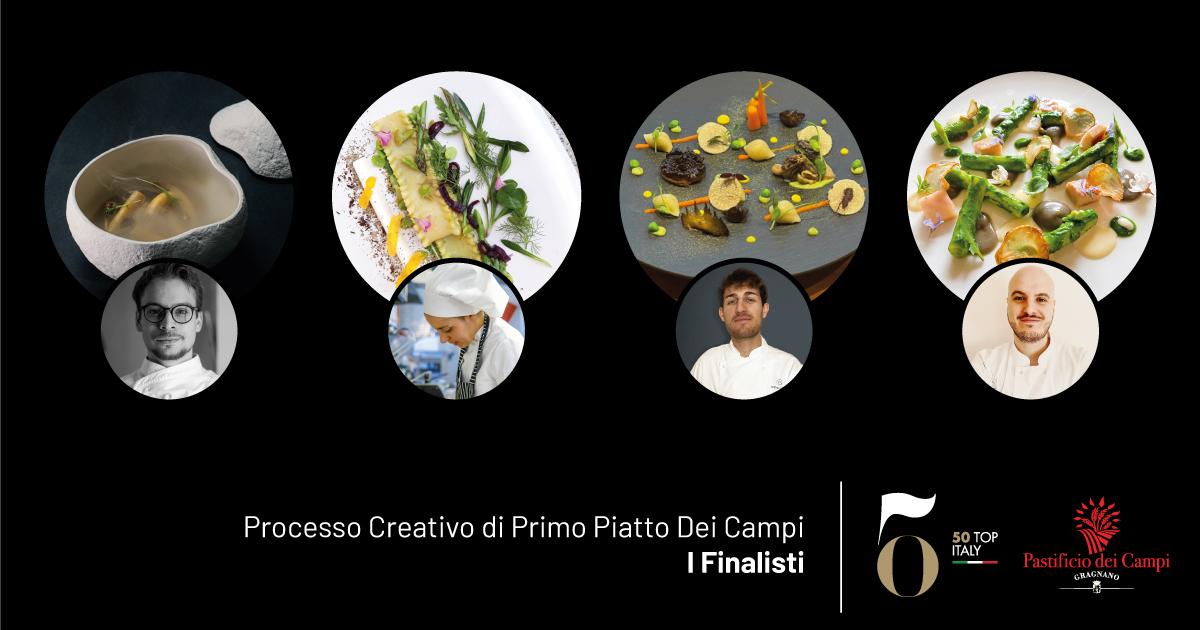 Processo Creativo di Primo Piatto dei Campi: i finalisti