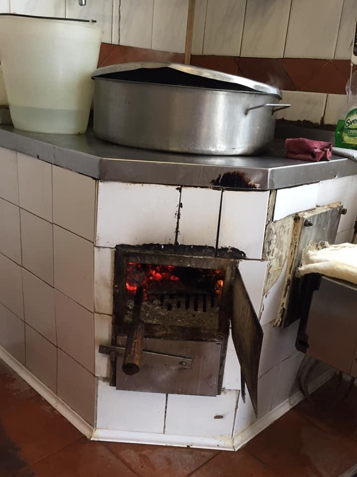 Il Turuziello, la fornace del piccolo caseificio
