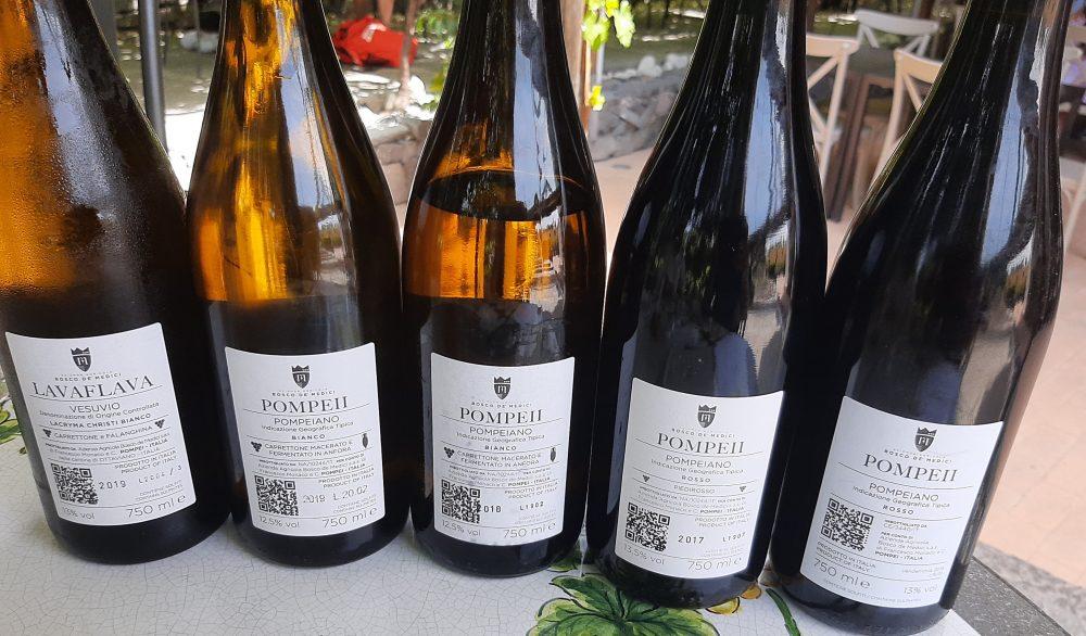 Controetichette vini Bosco De' Medici