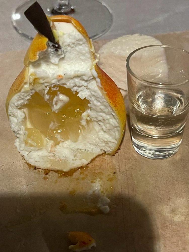 DUBL AL SALVATORE - Pera di ricotta con rum