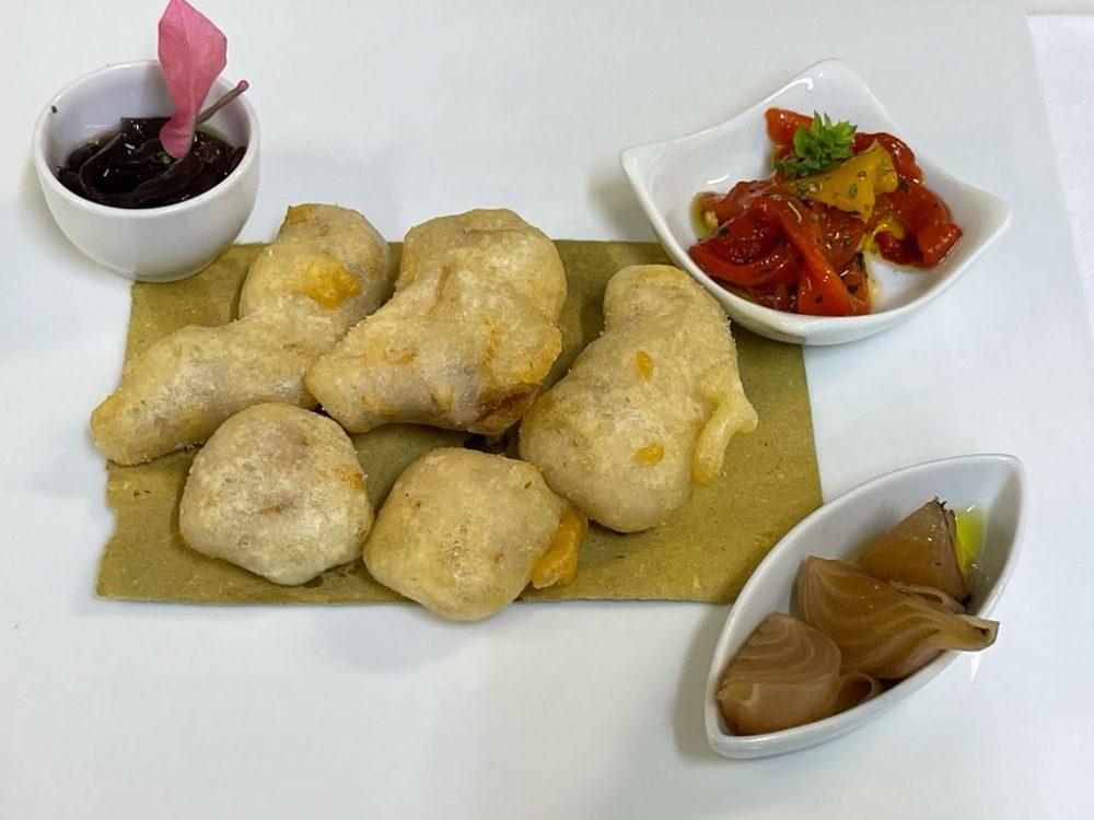 DUBL AL SALVATORE - Bocconcini di coniglio fritte in tempura