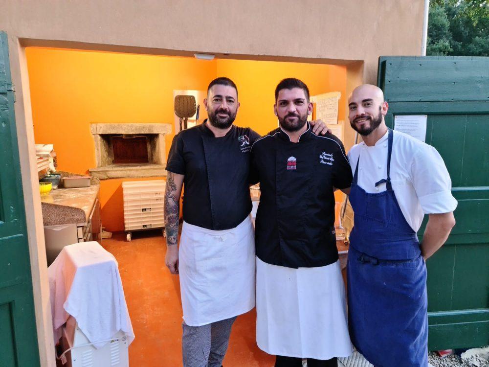 Edoardo Alfano e il suo staff da Sting