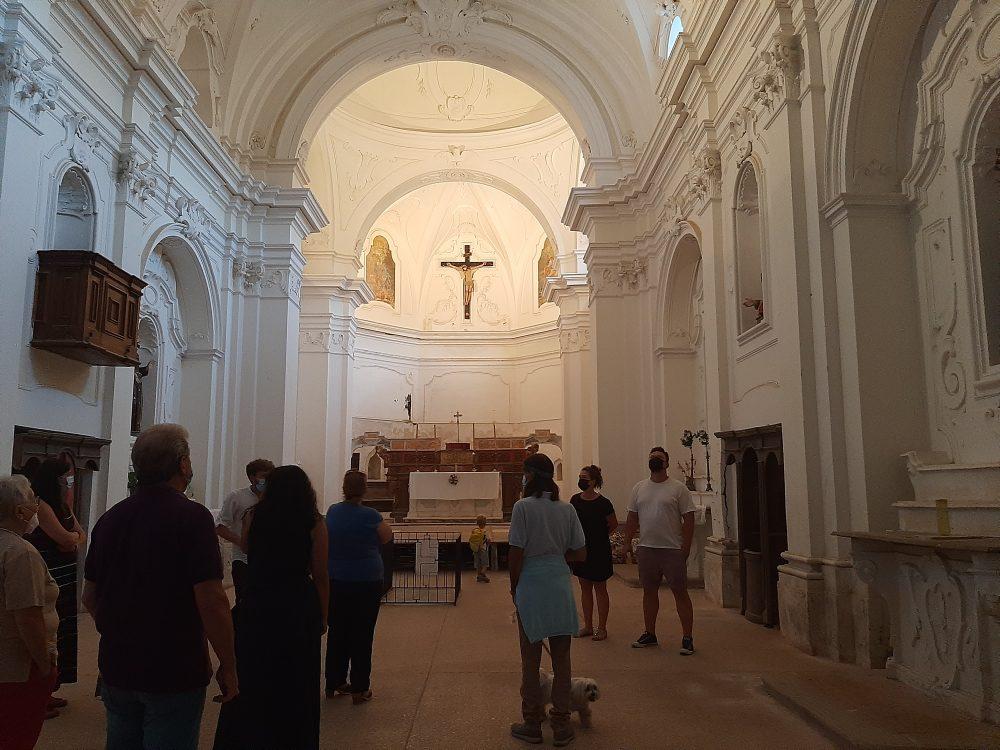 Gioi - Chiesa del convento di San Francesco