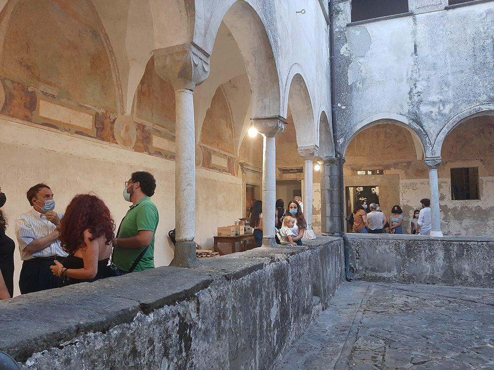 Gioi - Chiostro del convento di San Francesco