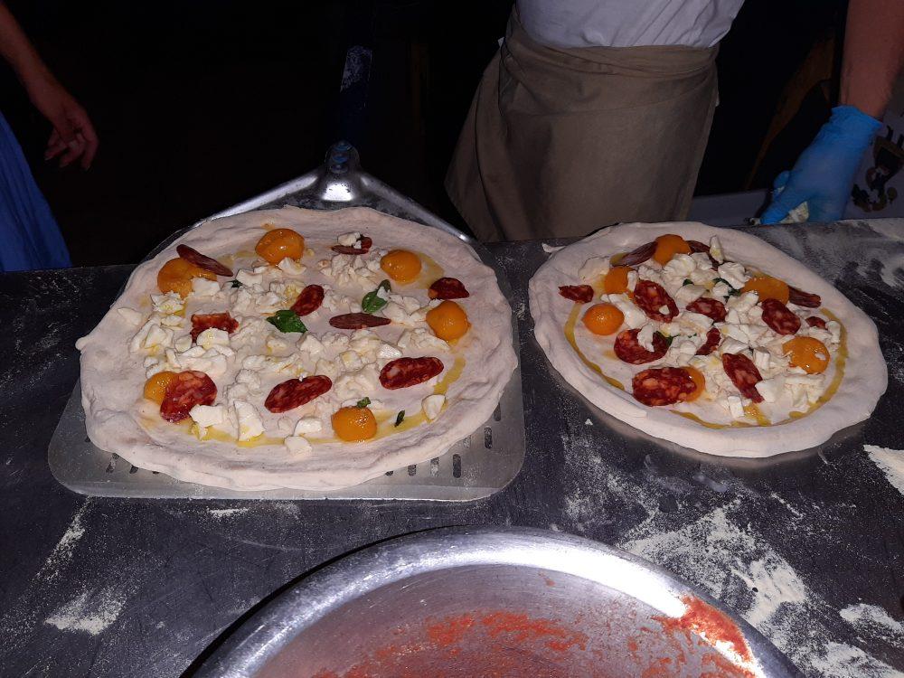 Gioi - Pizze DaZero in preparazione