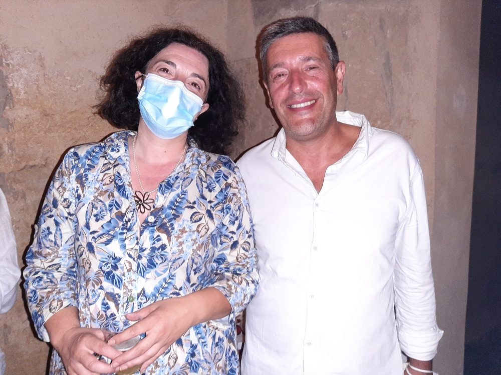 Mariateresa Scarpa e Raffaello Palladino