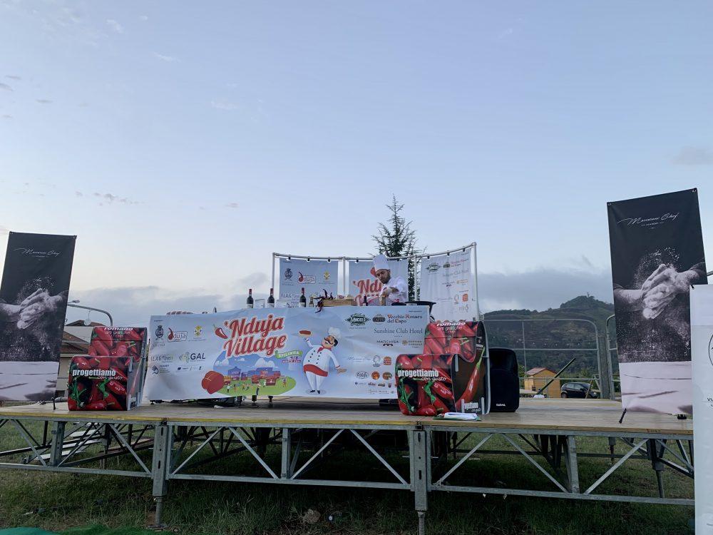Nduja Village - palco