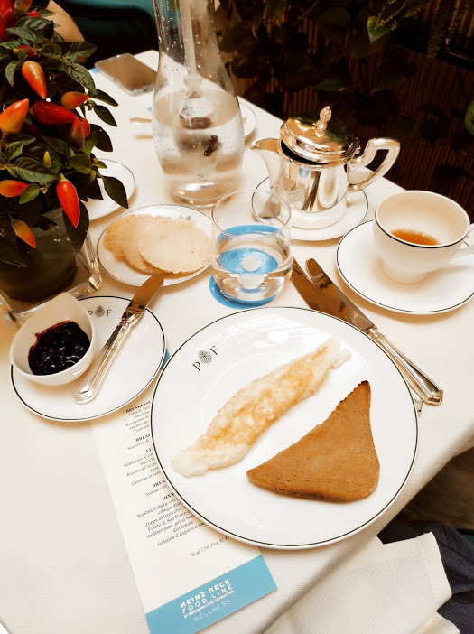 Palazzo Fiuggi, breakfast omelette toast integrale