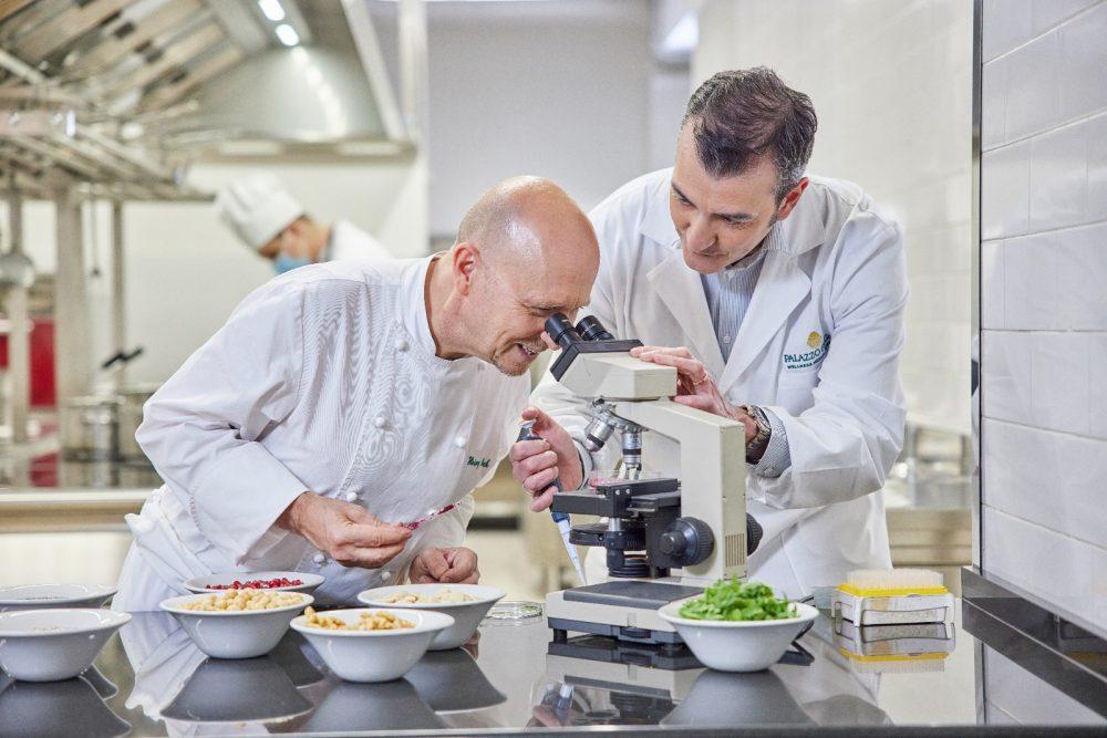 chef Beck con Della Morte Canosci