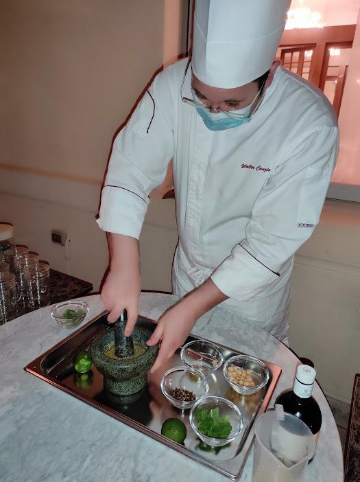 chef Walter Canzio