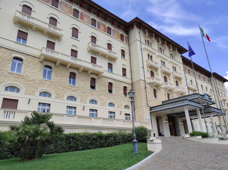 Palazzo Fiuggi esterno