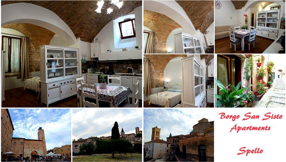 Borgo San Sisto Apartments a Spello