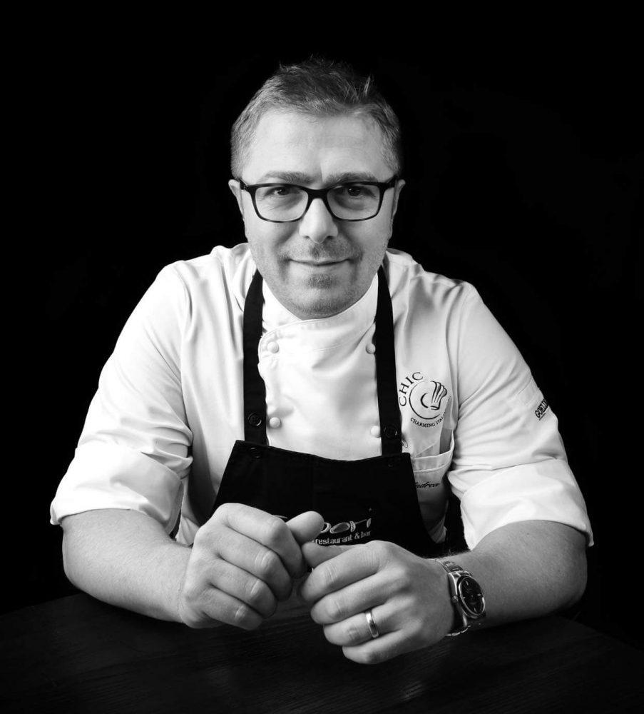 Andrea Scarpati - Sapori Restaurant - Leicester - Regno Unito