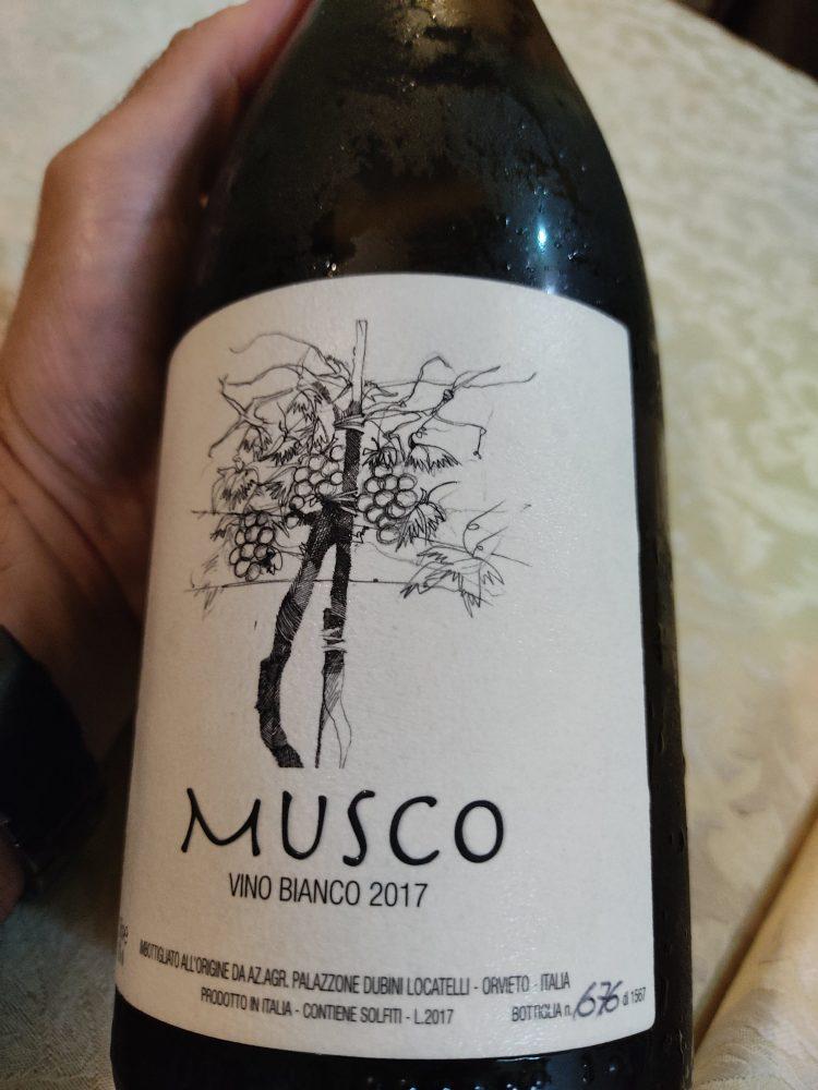 Az Agr Palazzone vino Musco Bianco