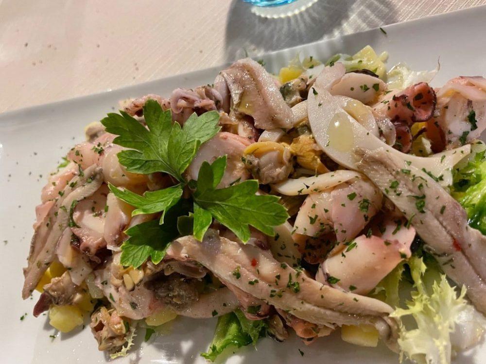 CELLAIO - L'insalata di mare