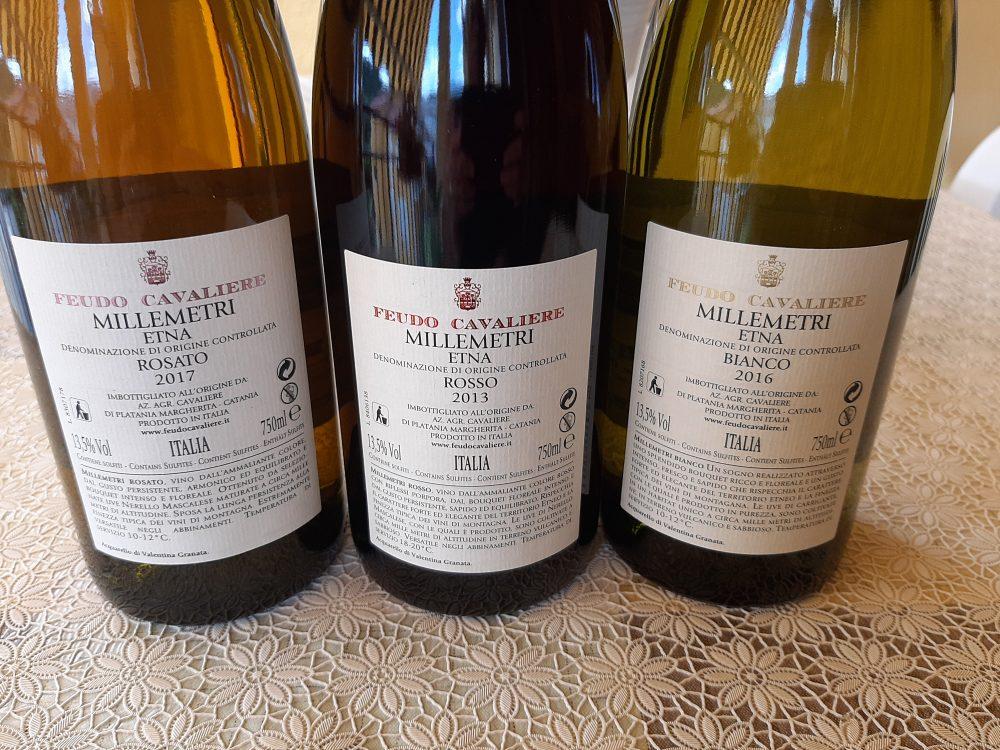 Controetichette Vini Feudo Cavaliere