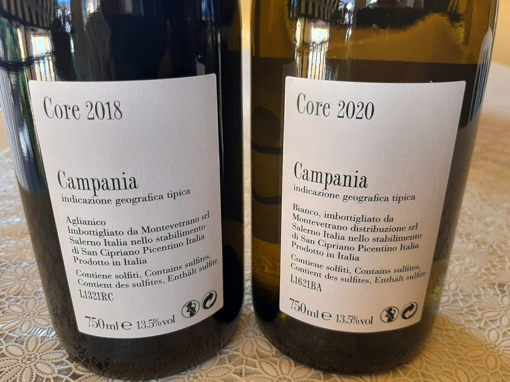 Controetichette Vini Montevetrano
