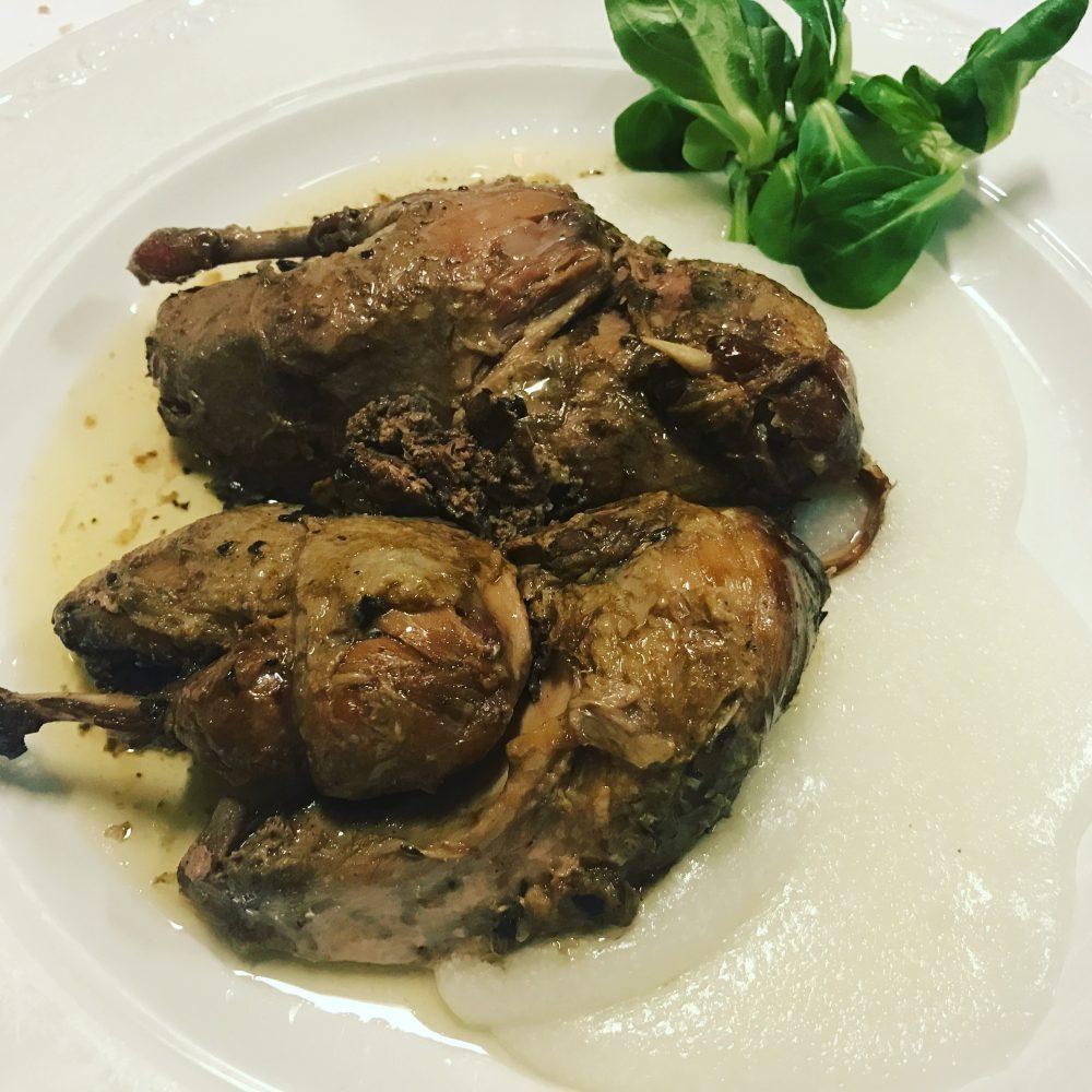 La Capanna di Eraclio - pernice e foie gras