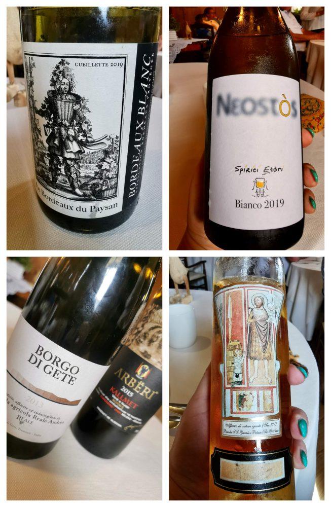 La scelta dei vini di Ovidio