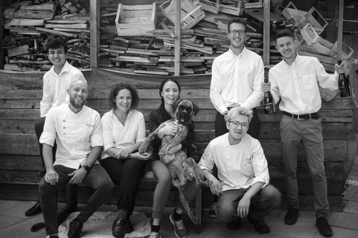 La squadra del Laite - Alessandro, Alex, Fabrizia, Elena, Yang, Mattia, Ovidio Photo credit Andrea Moretti