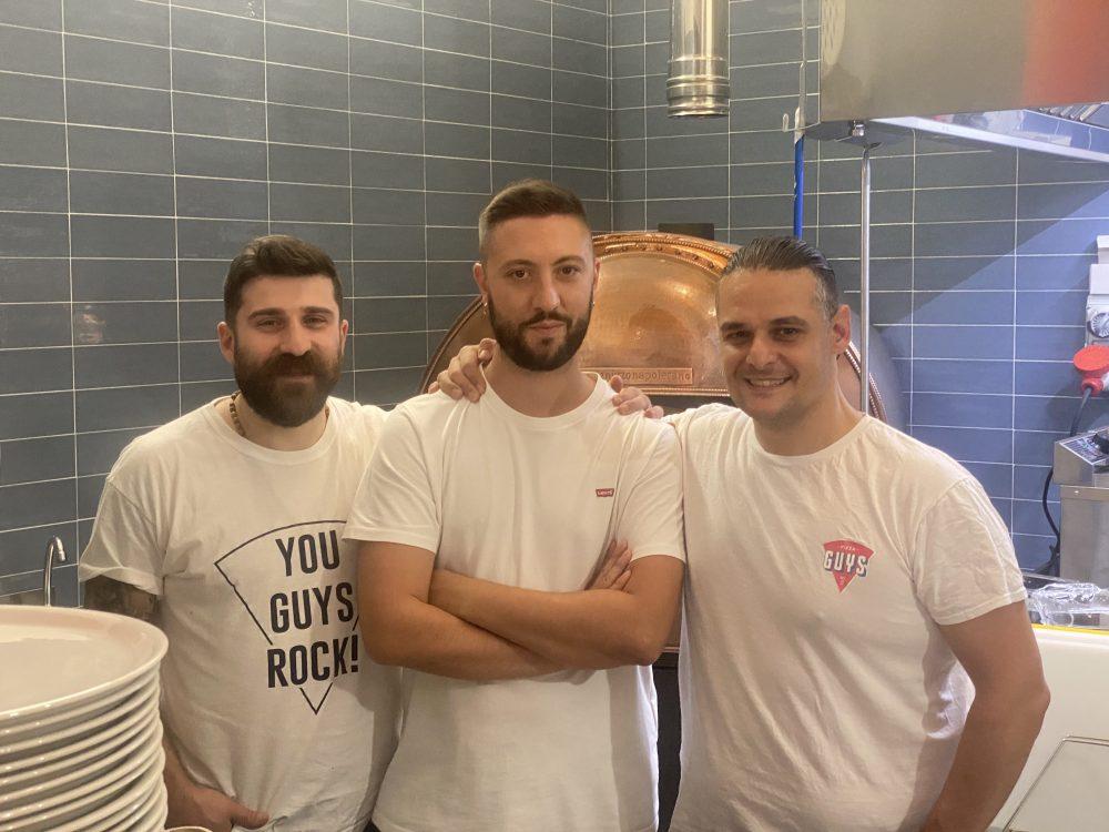 Pizza Guys - Carmine Raucci, Nicola Gravina e Bruno Gerace