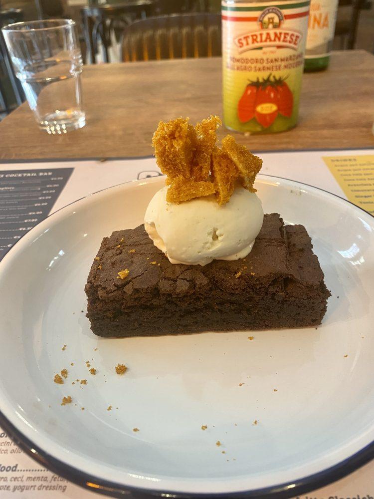 Pizza Guys - English Brownie al cioccolato