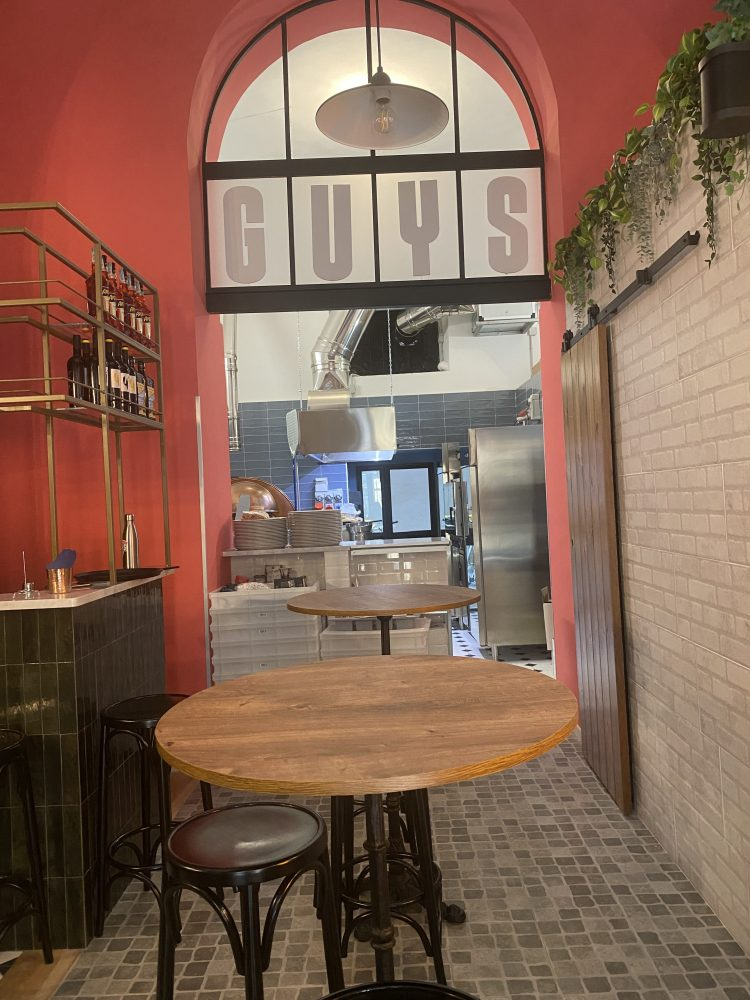 Pizza Guys - ambiente