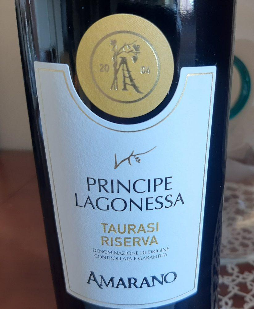 Principe Lagonessa Taurasi Riserva Docg 2013 Amarano