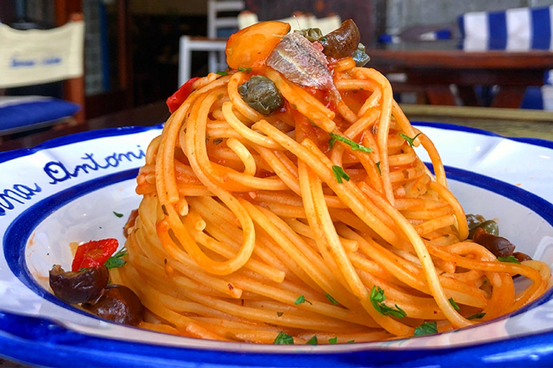 La ricetta vera della pasta all'ischitana